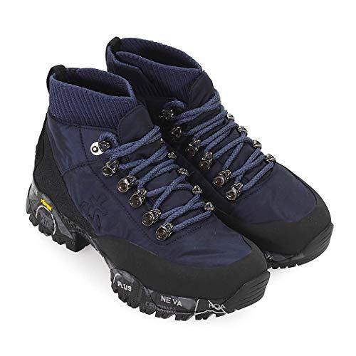Otoño Zapatos Azul 2019 114 De Botas Invierno Loutrecd Premiata Mujer raw0fqUr