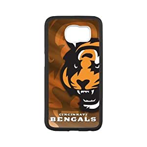 Onshop Bengals Custom Case for SamSung Galaxy S6(Laser Technology) by icecream design