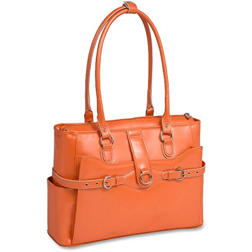 McKleinUSA WILLOW SPRINGS 96560 Orange Leather Ladies' Briefcase