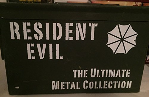 (Resident Evil Blu-Ray 1-6 The Ultimate Metal Collection)