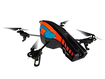 Parrot ARDrone 20 With Outdoor Hull Orange Blue