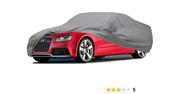 To Fit Lexus IS200 /& IS250 Breathable Soft Fabric Indoor /& Garage Car Cover RED