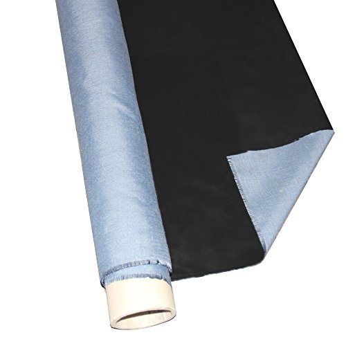 Firemat Blue Silicon Edition Meterware 150cm Breit- Feuerfeste Unterlage - Hitzebeständigkeit bis 300°C