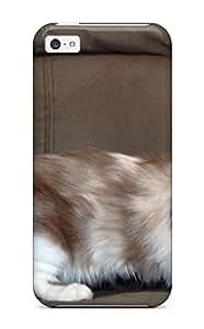 Hot For Iphone 5c Tpu Phone Case Cover(munchkin Cats) 3852220K45218416
