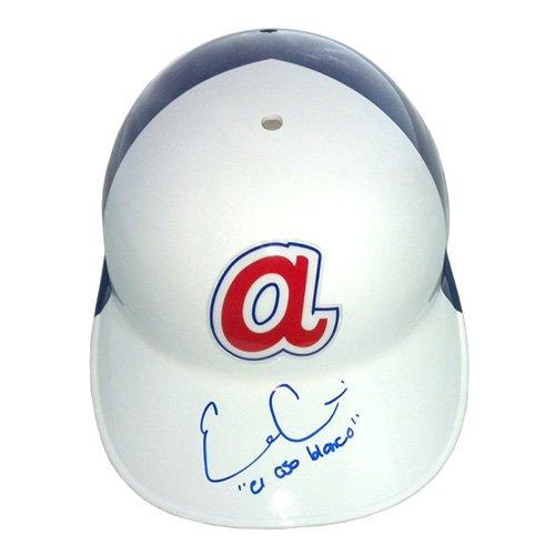 Evan Gattis Signed/Autographed Atlanta Braves Throwback Batting Helmet with