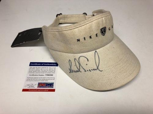 Annika Srenstam Signed Nike Golf Visor *HOF Y86292 PSA/DNA Certified Autographed Golf Hats and Visors