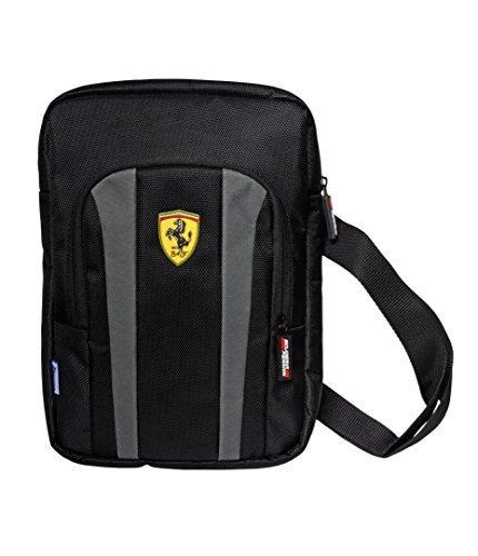 Ferrari Tablet Bag Black - - Ferrari Grey