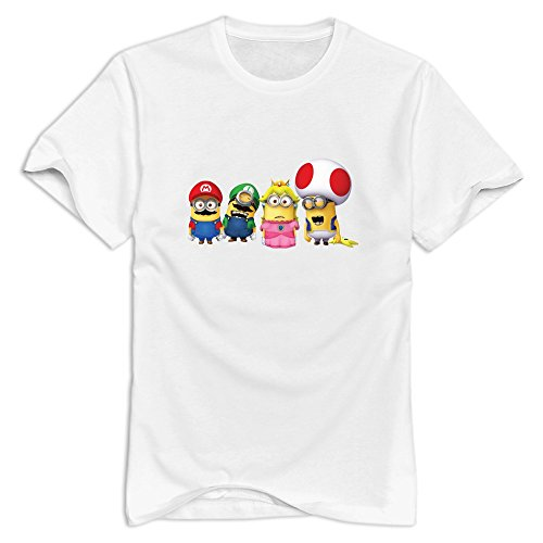 minions-mario-round-neck-t-shirt-for-mens-white-xl-fashion-t-shirt