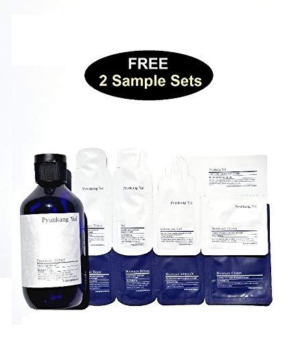 [ Pyungkang Yul ] Essence Toner 200ml with 2 Pyunkang Yul Skincare Sample Kits. Suractif Comfort Lift Set: Conforting Lift Cream 50ml + Intense Serum 10ml + Eye Cream 3ml 3pcs