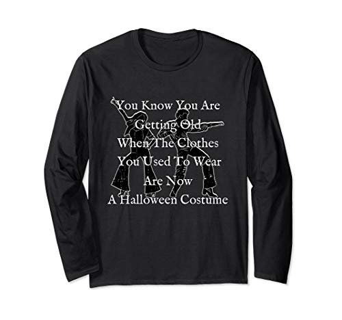 Funny Vintage 70s Halloween Shirts Long Sleeve Quote Costume]()