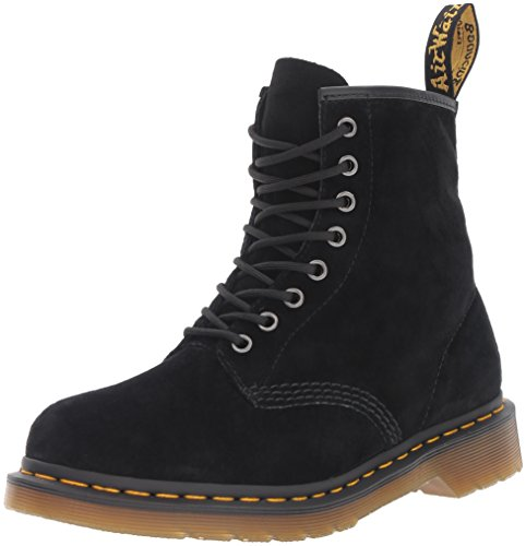 Dr. Martens Mens 1460 Soft Buck Boot Boot Nero