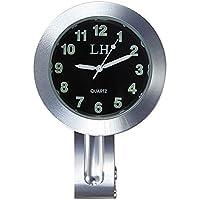 TOOGOO Reloj negro impermeable de UK de manillar
