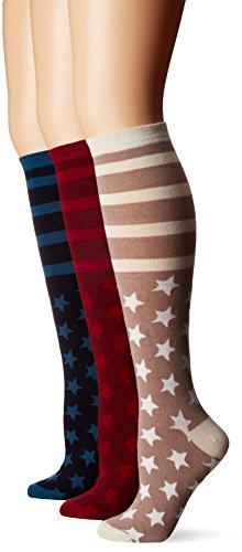 Luks Womens Pair Jacquard Socks