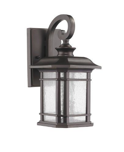 "Chloe Lighting CH22021RB17-OD1 ""Franklin"" Transitional 1-Light Rubbed Bronze Outdoor Wall Sconce 17″ Height Review"