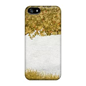 New Premium Flip Case Cover Fall Is Coming Skin Case For Iphone 5/5s