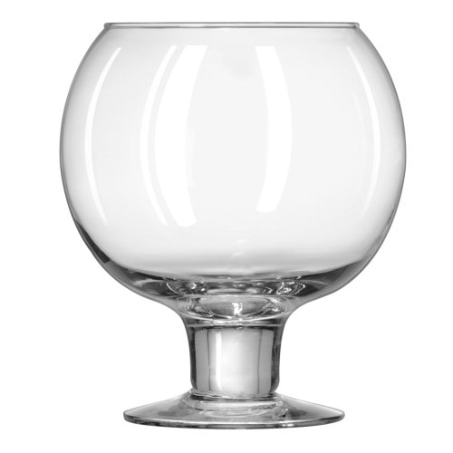 (Libbey 3408 Whiskey Service 51 Ounce Super Globe Glass - 6 / CS)