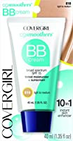 COVERGIRL Smoothers Lightweight BB Cream, 1 Tube (1.35 oz), Light to Medium Skin Tones, Hydrating BB Cream with SPF 15 Sun Protection