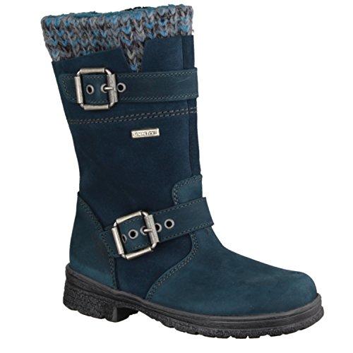 Däumling Mädchen Alia Langschaft Stiefel Blau