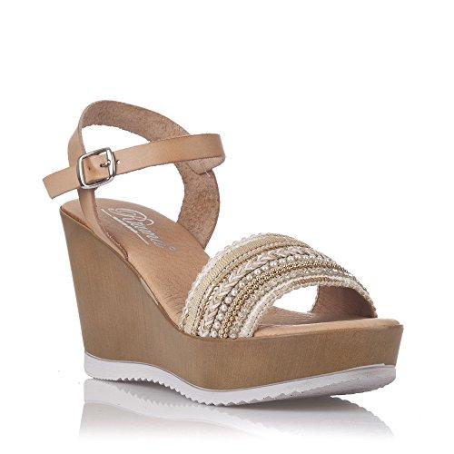 Sandales De Mode Féminine Zapp Brun