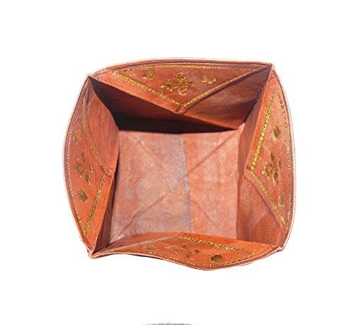 Bolsa de cuero de bolsa Marruecos bolsa: Amazon.es: Hogar