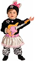 Forum Novelties Baby Boy's Lil' Rock Star 80's Baby Girl Costume