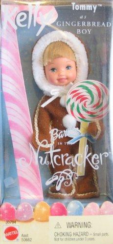 Barbie Nutcracker Kelly TOMMY as Gingerbread Boy Doll (2001)