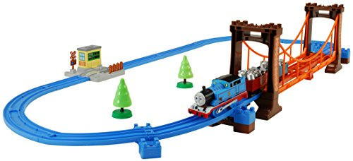 Thomas Tank Engine Bridge - Thomas The Tank Engine: Set of Rickety Suspension Bridge Model Railroad