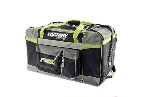Factory FMX Motorcross Gear Bag XLarge Green (Best Racing Gear Bag)