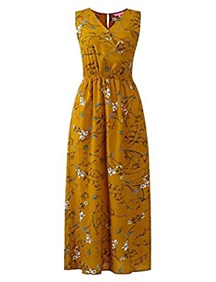 Regna X Casual Loose Long Maxi Dresses for Women (Solid, Floral, Boho Printed)
