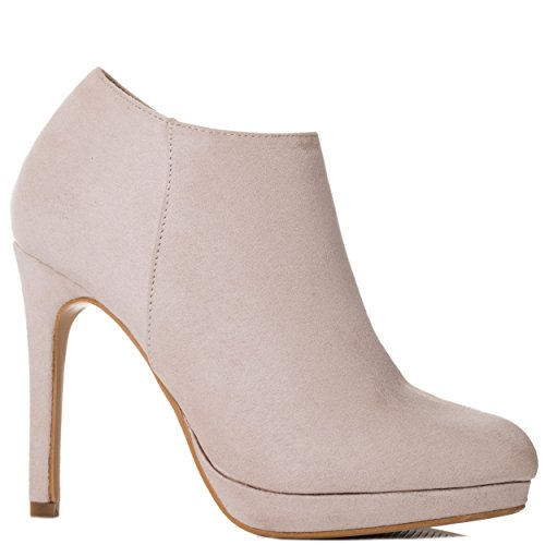 Plateforme The Suede Nude Chaussures Talons Style Hauts Max Aiguilles Bottines Femmes Spylovebuy To x5gqII