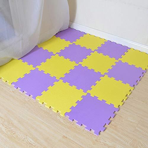 Wasab: Children's Soft Developing Crawling Rugs EVA Foam Mat Kids Jigsaw Mats Floor Tiles Toy 30x30x0.8cm Play Toys (Rug Jigsaw)