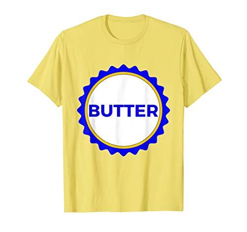 Butter T-Shirt Stick Of Butter Shirt Funny Couples Costume]()