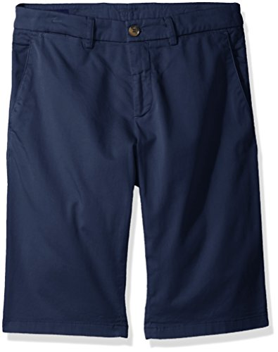 Façonnable Men's Faconnable Iconic Fit Bermuda Short, Navy Blue, 54