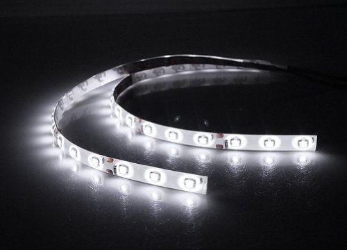 12V PVC SMD LED Flexible Strip Lights, 30 cm, 2 Pieces (White)