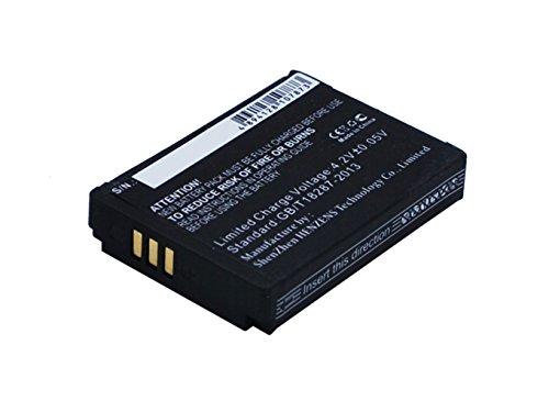 smavco Bundle 1ICP7/28/35 Battery for Parrot Zik 2.0 Plus Short Flat Micro USB Cable, 750mAh