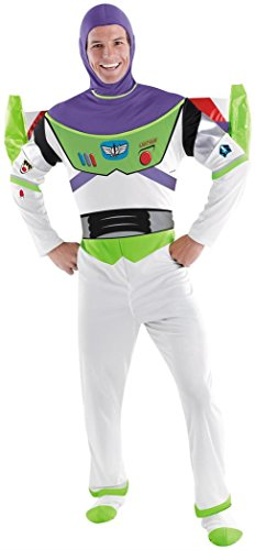 Deluxe Buzz Lightyear Costume - XX-Large - Chest Size 50-52 (Buzz Lightyear Fancy Dress Adult)