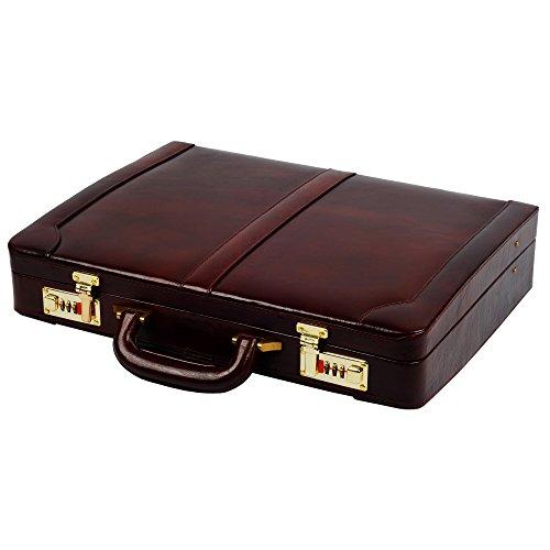 Zint Genuine Leather Briefcase Attache