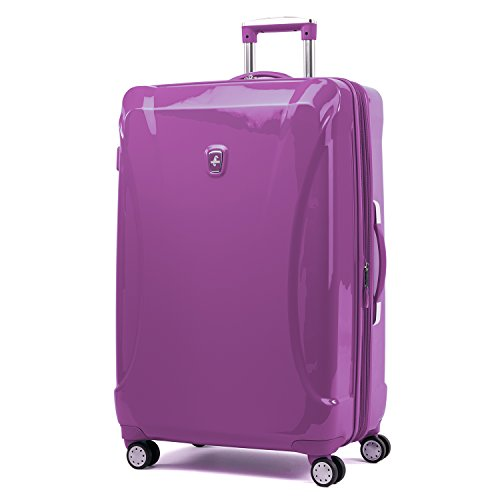 Atlantic Ultra Lite Hardsides 28'' Spinner Suitcase, Bright Violet by Atlantic