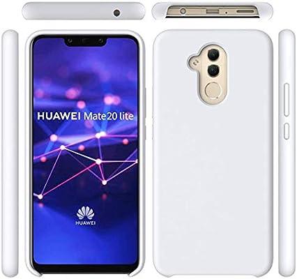 Funda Huawei Mate 20 Lite Líquido Silicona Suave Flexible Caso ...