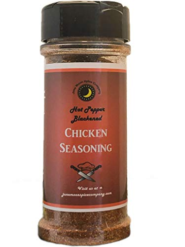 Premium   BLACKENED Chicken Seasoning Dry Rub Dust   Crafted in Small Batches with Farm Fresh SPICES for Premium Flavor and Zest