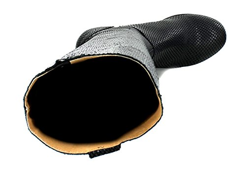 Kickers - Botas Mujer negro