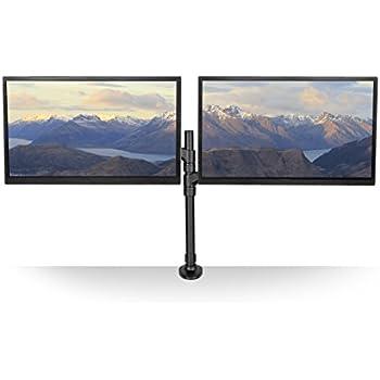 Amazon Com Kanto Dmg2000 Dual Monitor Desktop Mount For