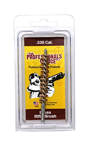 The Professional's Choice Brass Bore Brush.338 Caliber