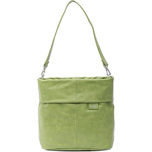Zwei Mademoiselle M8 - Bolso para mujer (asa para hombro, 25 cm) Green (Verde)