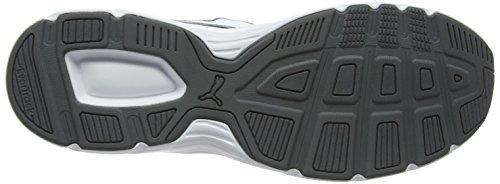 Puma Unisex-erwachsene Asse V4 Griglia Low-top, Grau (ombra Ombra Weiss 02), 38 Eu