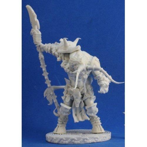 Reaper RPR77376 Bones Minotaur Demon Lord Miniature ()