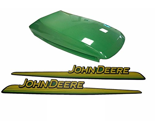 New John Deere Upper Hood With LH & RH Decal Set LX266 LX280 LX289 by Kumar Bros USA