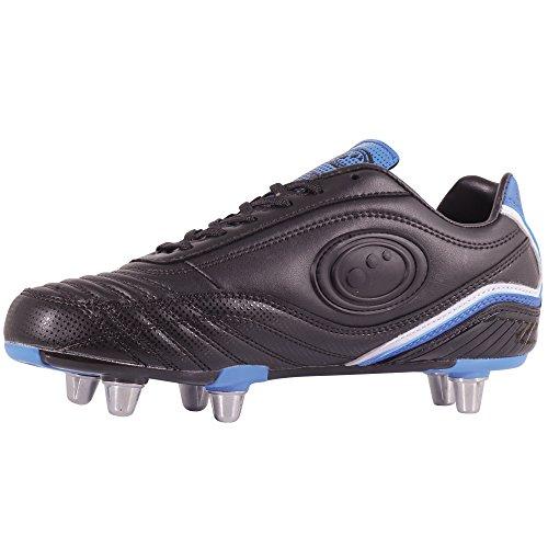 Optimum Blaze 3 - Zapatillas de rugby Niños Negro/Azul