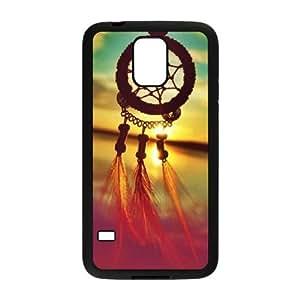 Samsung Galaxy S5 Cell Phone Case Black Dreamcatcher FXS_825475