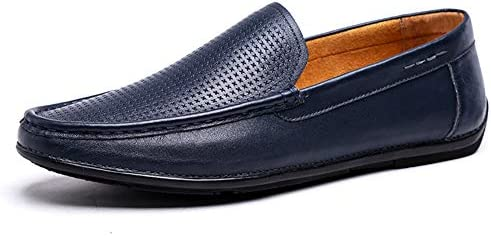 efe5e8112171 LXLA- Mens Simple Comfortable Slip-On Leather Shoes, Men's Casual ...